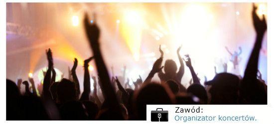 Organizator koncertów.