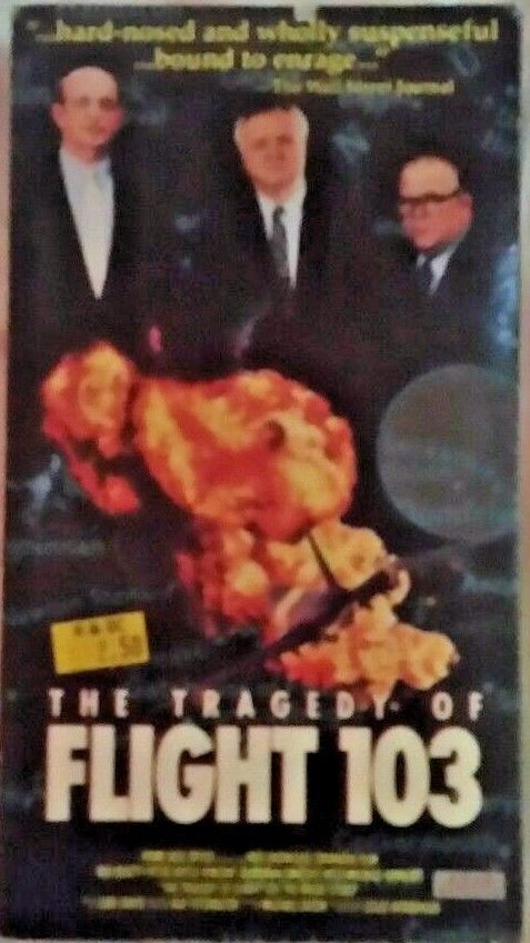 The Tragedy Of Flight 103 VHS ***FREE SHIPPING***