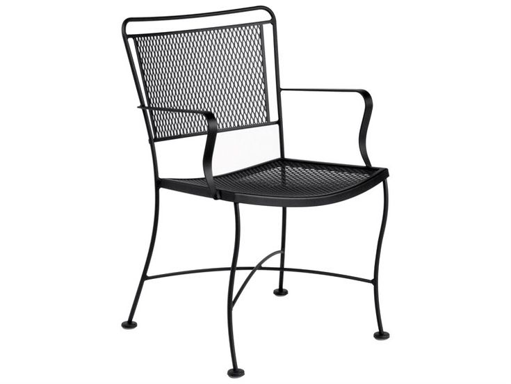 Woodard Constantine Wrought Iron Dining Chair | 130009