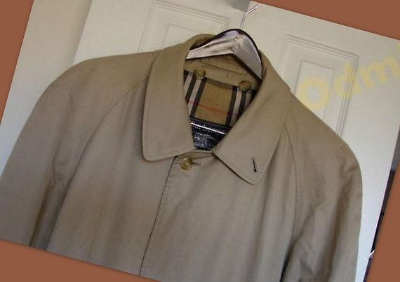 trench coat  Burberry. Vintage 70's. RAR от ODMIVINTAGE на Etsy