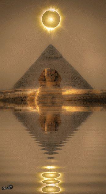 História Dinâmica: Esfinge de Gizé -   A mais conhecida de toda histó...