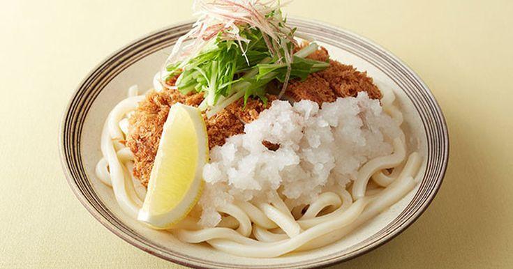 みぞれかつうどん by キッコーマンつゆ [クックパッド] 簡単おいしいみんなのレシピが263万品
