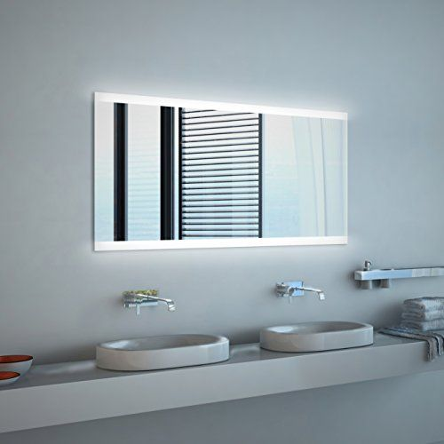 Beautiful Noemi NEON Badspiegel mit Beleuchtung B cm x H