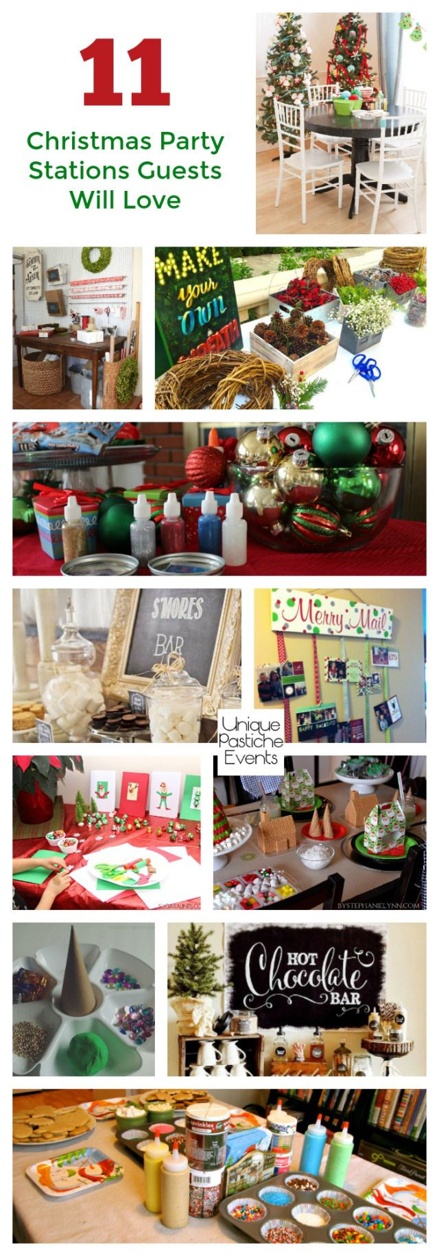 11 Christmas Party Stations Guests Will Love