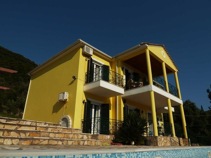 Totally Secluded 3 Bed Villa with HUGE, VERY Private pool, Geni Village. around nidri   Lefkada-Rentals - Villas