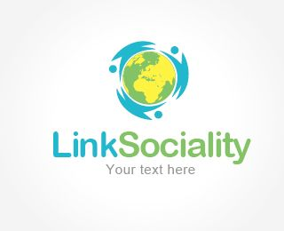 Free Logo - Link Sociality