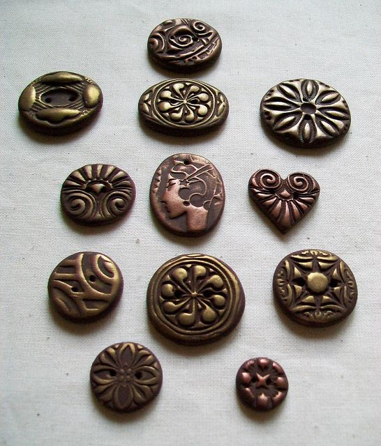 polymer clay buttonsButtons Buttons Buttons, Buttons Vintage, Clay Buttons 3, Beads Charms, Jewelry Polymere Resins, Polymer Clay, Clays Polymer