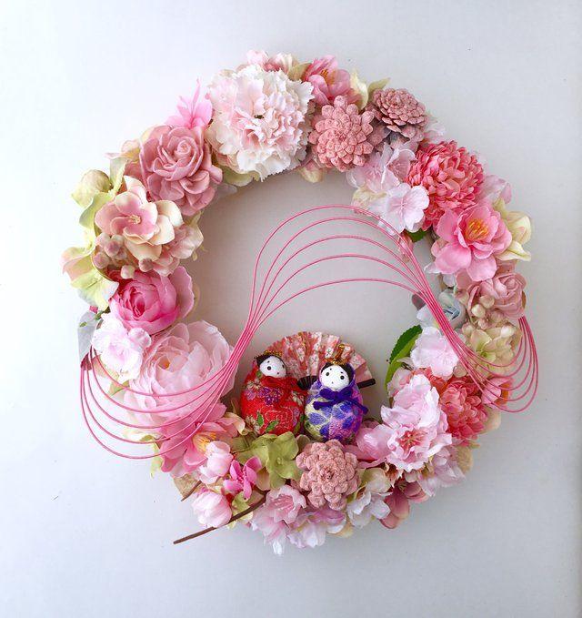 お雛様 春リース - kamiyu