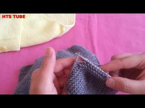 Derya Baykal Kolay yelek yapımı Bebek Yeleği Örneği - YouTube