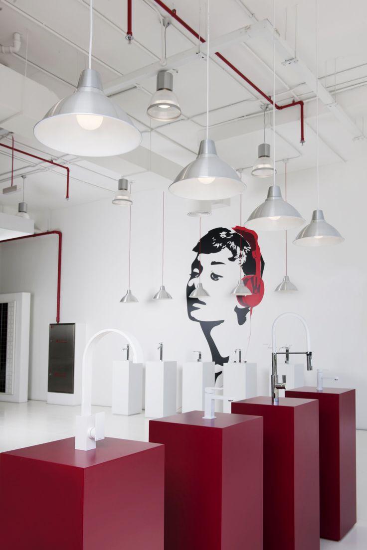Bathroom showrooms canberra - Dubai Showroom Interior By Khaled Termanini