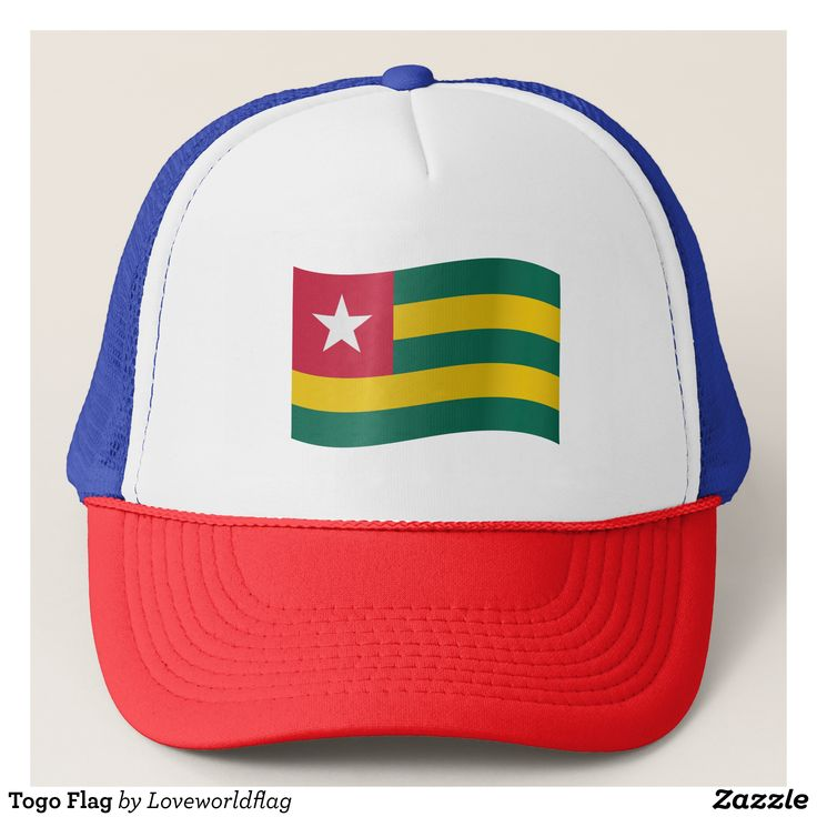 Togo Flag Trucker Hat - Urban Hunter Fisher Farmer Redneck Hats By Talented Fashion And Graphic Designers - #hats #truckerhat #mensfashion #apparel #shopping #bargain #sale #outfit #stylish #cool #graphicdesign #trendy #fashion #design #fashiondesign #designer #fashiondesigner #style