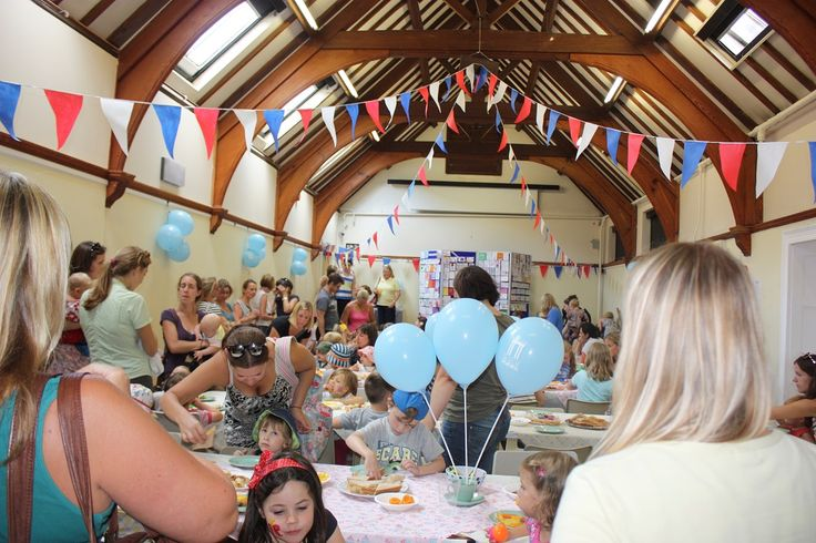 Busy party tea for our 125th birthday party