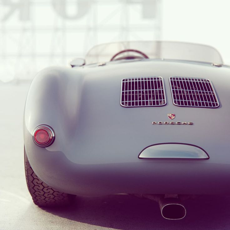 "rhubarbes: ""Porsche 550 Spyder / 3D art by Additive Studios. """