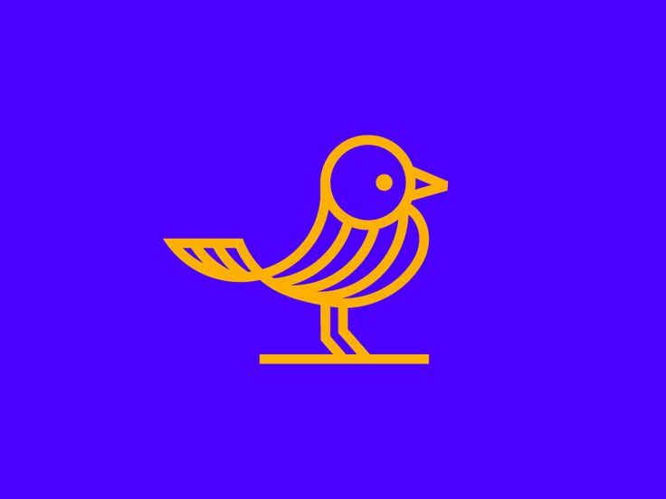 Gold Bird logo (for sale) by Vadim Carazan