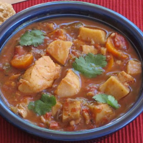 Slow cooker halibut stew fish pinterest stew home for Fish slow cooker recipes