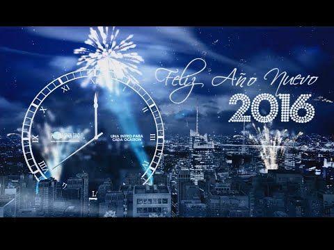 FELIZ AÑO NUEVO 2016/HAPPY NEW YEAR 2016 CON RELOJ CUENTA ATRAS A.Effect...