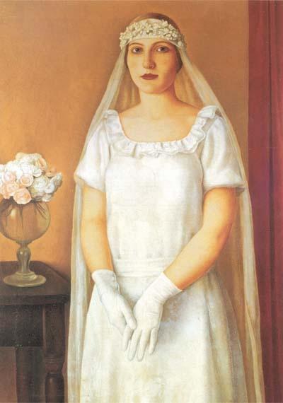 Antonio Donghi, La sposa, 1926 by kraftgenie, via Flickr