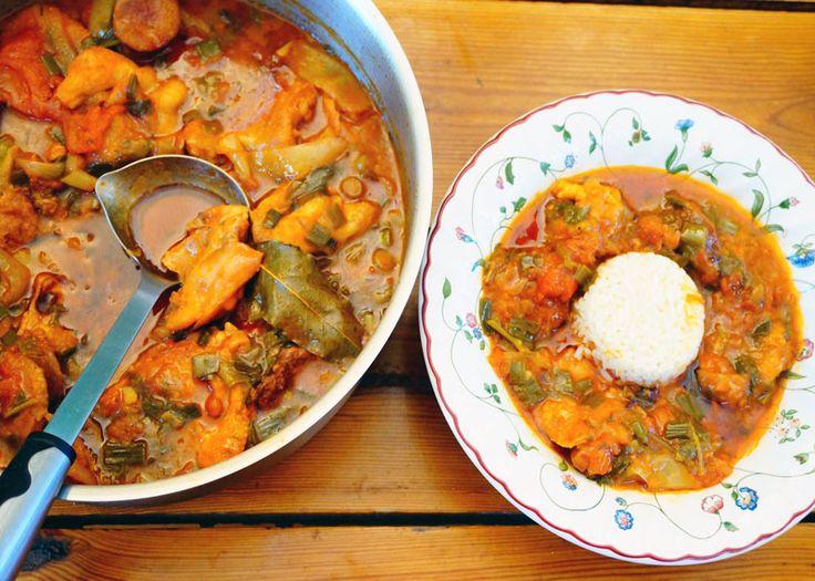 Мясной суп гумбо приготовление фото