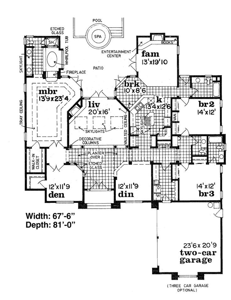 172 best floor plans images on pinterest floor plans for House plans with fireplace in master bedroom