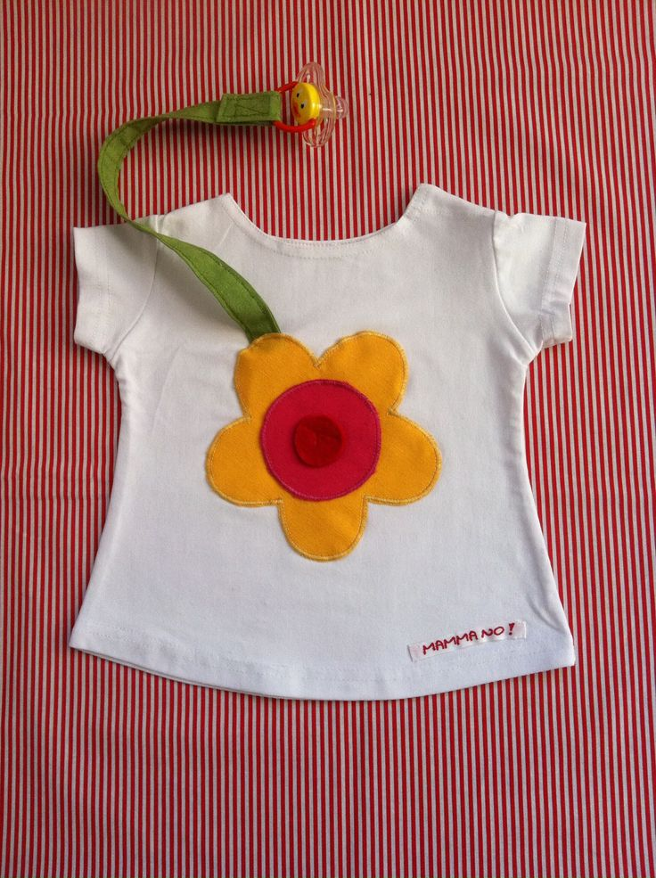 Maglietta MAMMANO bimba fiore