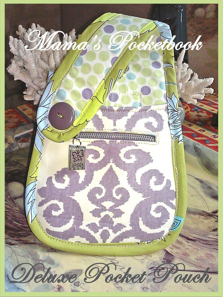 Mama's Pocketbook Pocket Pouches! Available here:  prissygypsy.com