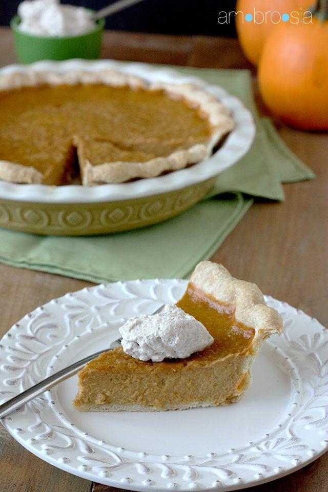Classic Pumpkin Pie | Pie or Die! | Pinterest