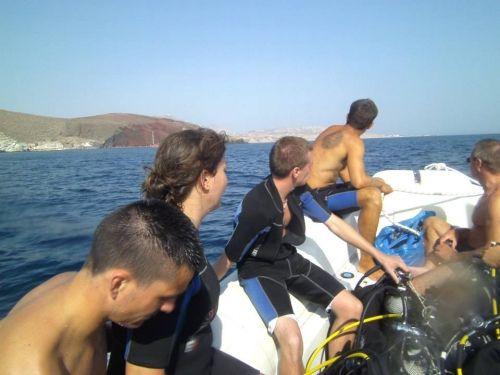 Snorkel safari - santorini