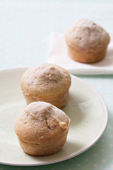 Recepty pro děti: Banánové muffiny z žitné mouky