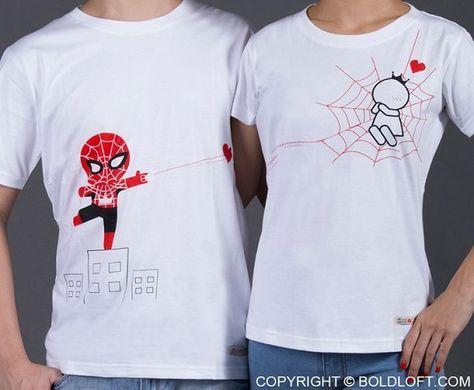 camisetas creativas para parejas 2 » Vivir Creativamente