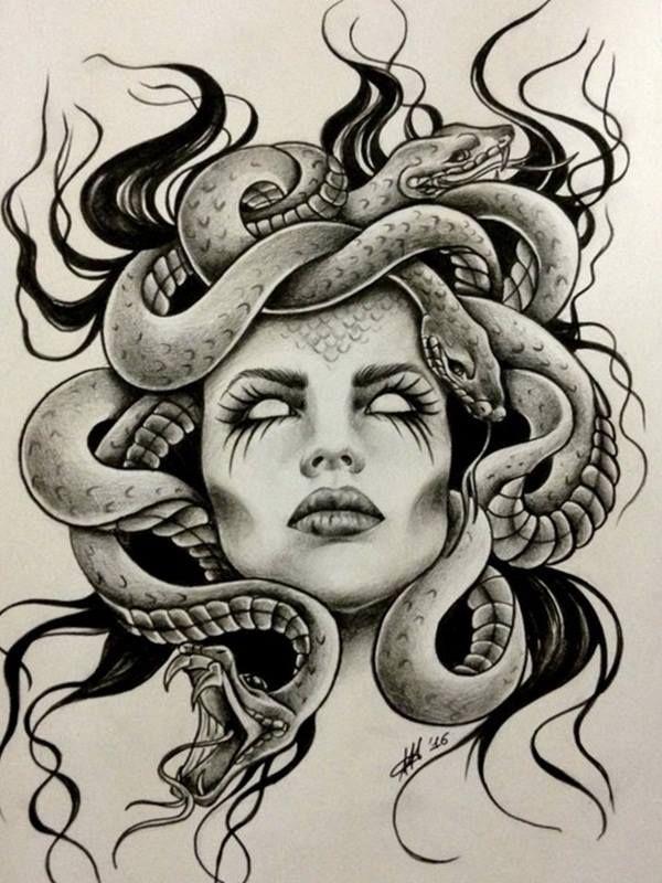 Best 25 Medusa Tattoo Ideas On Pinterest