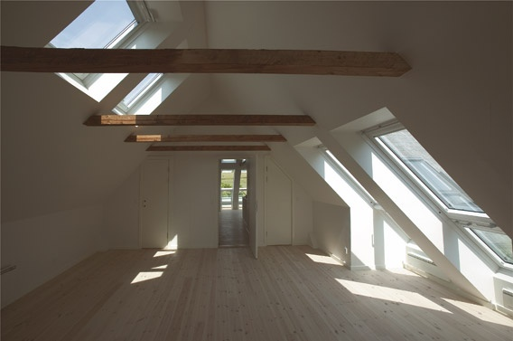 Loft conversion, VELUX INTEGRA and VELUX CABRIO. Like the high and low positions if we have to have these