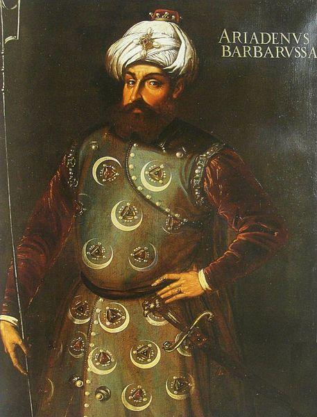 Portrait of Barbaros Hayreddin Pasha (1478-1546)