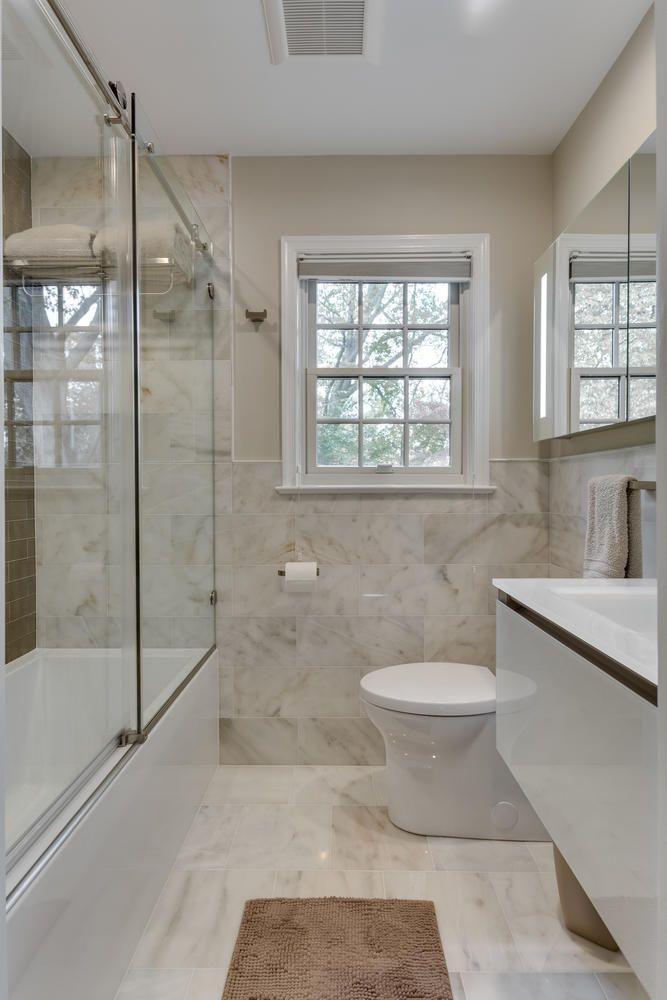 Small Bath Remodel In Arlington Va