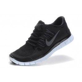 Nike Free 5.0+ Unisex Svart Hvit | Nike sko tilbud | billige Nike sko på nett | Nike sko nettbutikk norge | ovostore.com