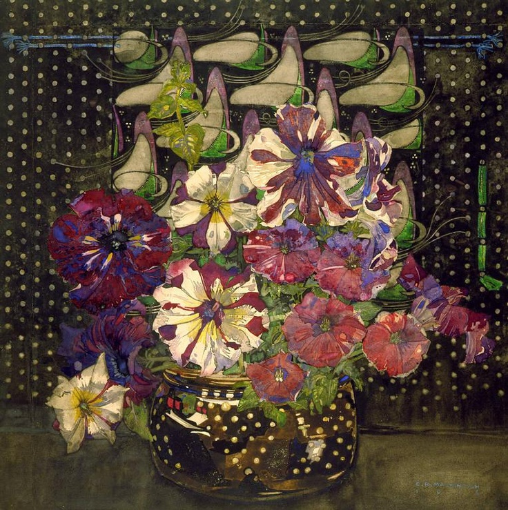 Charles Rennie Mackintosh, 1916 Petunia's