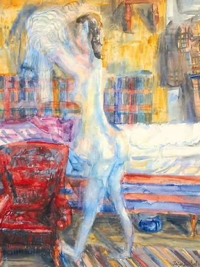 Női akt, 1943: 34. aukció (2010. tavasz) 113.tétel