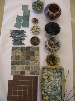 "Not sure if I've pinned this before, but love these tiles. Would be great for Transient Art ("",)"
