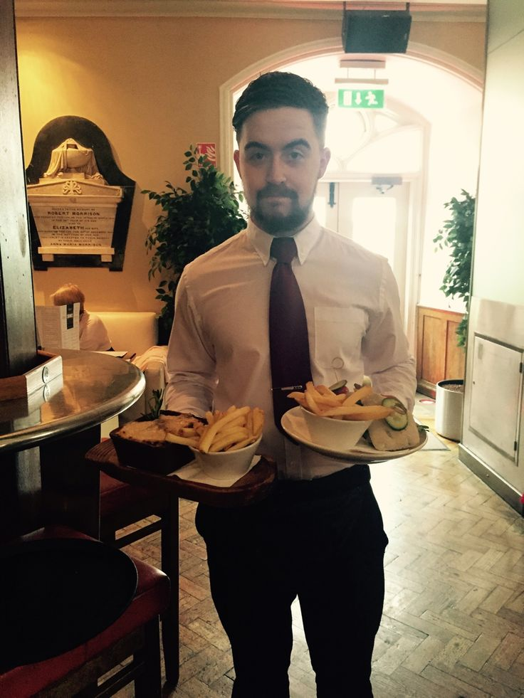 TOUCH this image: Seany with today's Lunch Specials by Meabh