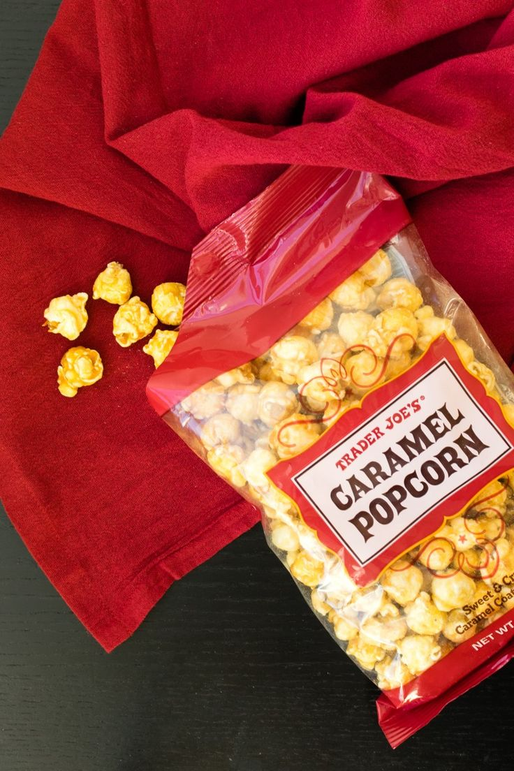 Trader Joe's Caramel Popcorn is a Sweet Vegan, GlutenFree
