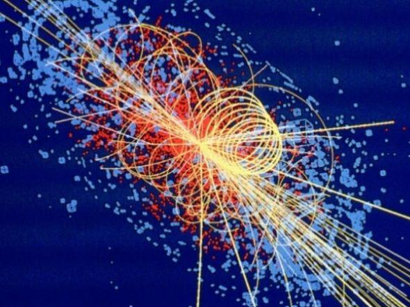 A música foi feita a partir de dados obtidos pelos detectadores do Centro Europeu de Pesquisas Nucleares (Cern, na sigla em inglês)