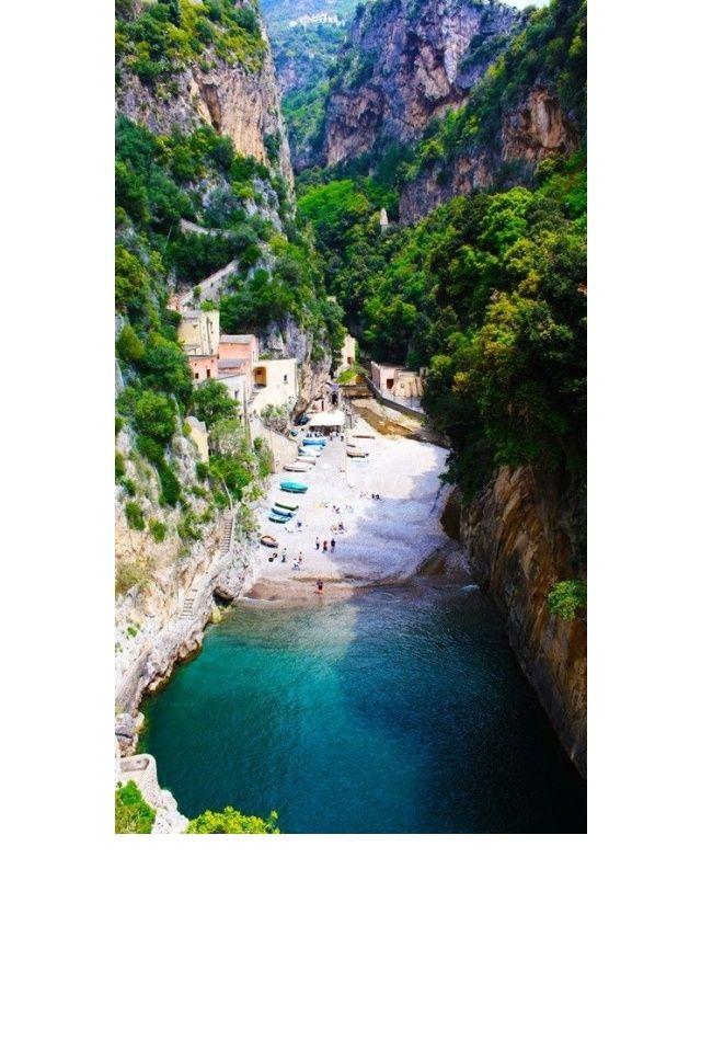 Amalfi en Italie Lune de miel