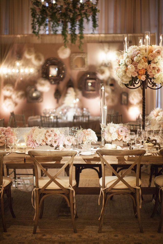 afternoon tewedding theme ideas%0A Best     Blush wedding reception ideas on Pinterest   Cocktail tables   Blush weddings and Pink wedding receptions