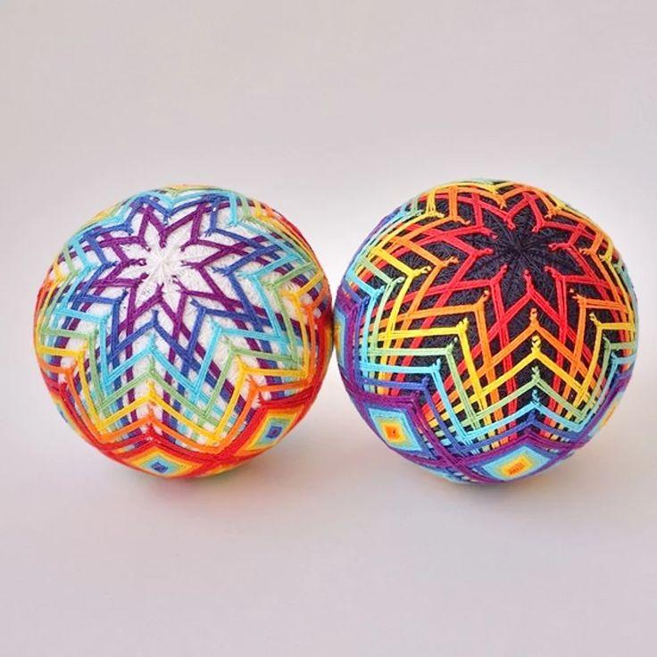 Купить подарочный набор разноцветные шары темари | Mellroot