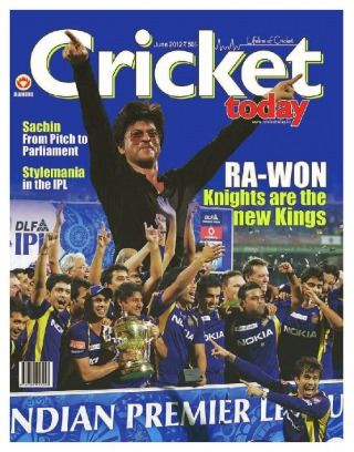 Get your digital copy of Cricket Today Magazine - June 2012 Ipl special issue on Magzter and enjoy reading it on iPad, iPhone, Android devices and the web.