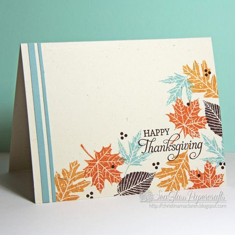 17 Best ideas about Handmade Fall Cards on Pinterest ...