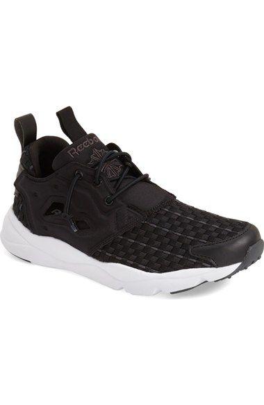 Furylite Contemporary, Chaussures de Running Femme - Différents Coloris - Blanc/Noir/Bleu (White/Black/Blue Sport), 41 EUReebok
