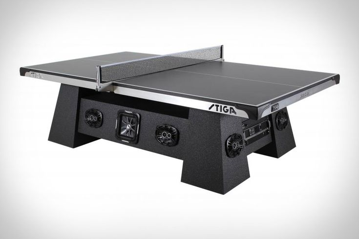 One of the best things about Rockstar's Table Tennis was the music that played in the background, serving as a perfect accompaniment to the action. The Stiga Studio Ping Pong Table is likely as close as you can get in...