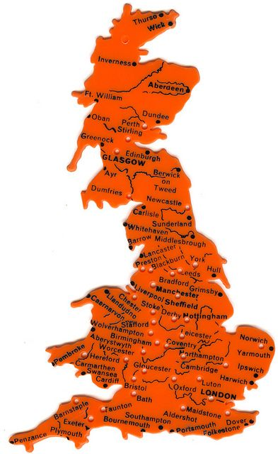 Great Britain Map stencil - had one of these in blue...why don't these still exist?