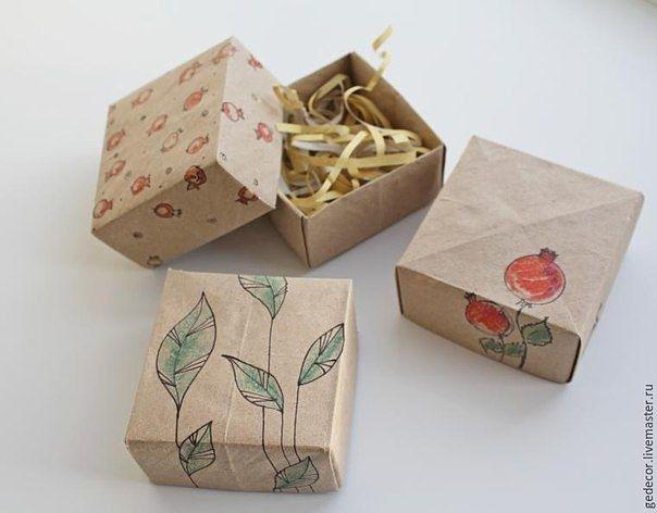 Как быстро сделать коробочку в технике оригами.