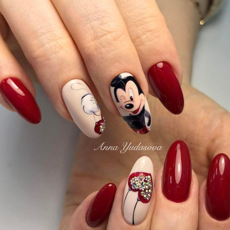 Moana Disney Nails Designs: 25+ Best Ideas About Disney Gel Nails On Pinterest